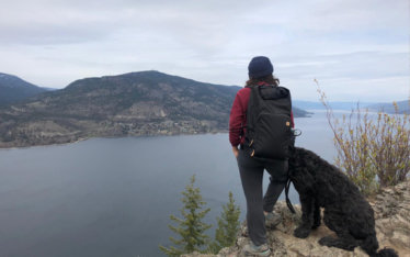 Hiking Knox Mountain Kelowna