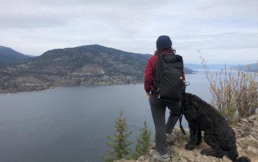 Hiking Knox Mountain Kelowna